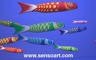 Empty Sea, une oeuvre interactive d'Alexanor, exposée du 8 octobre au 2 novembre 2013 à l'Espace Art et Liberté à Charenton