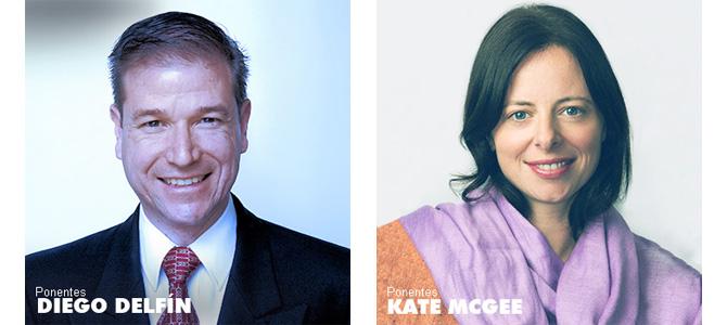 L'architecte mexicain Diego Delfin et Kate Mc Gee, responsable des éco-quartiers à San Francisco