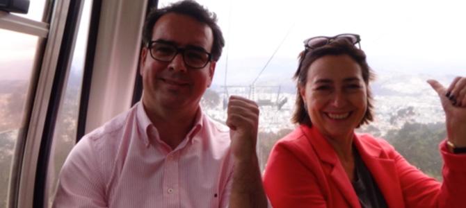 Pablo Sanchez Chillon et Pilar Conesa à Quito