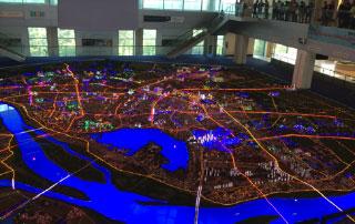 Le centre de planification et simulation urbaine d'Hanoi