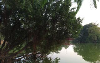 Hanoi : vue de la ville