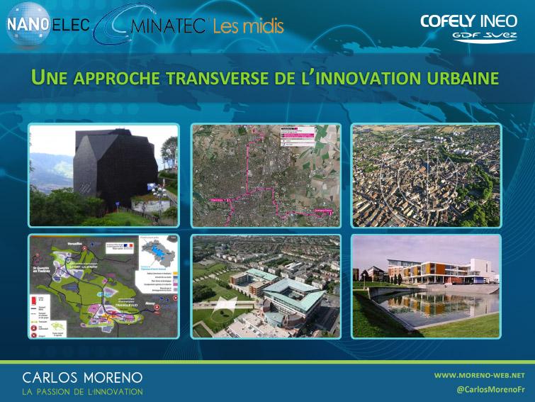 11. l'innovation urbaine exige une profonde transversalité