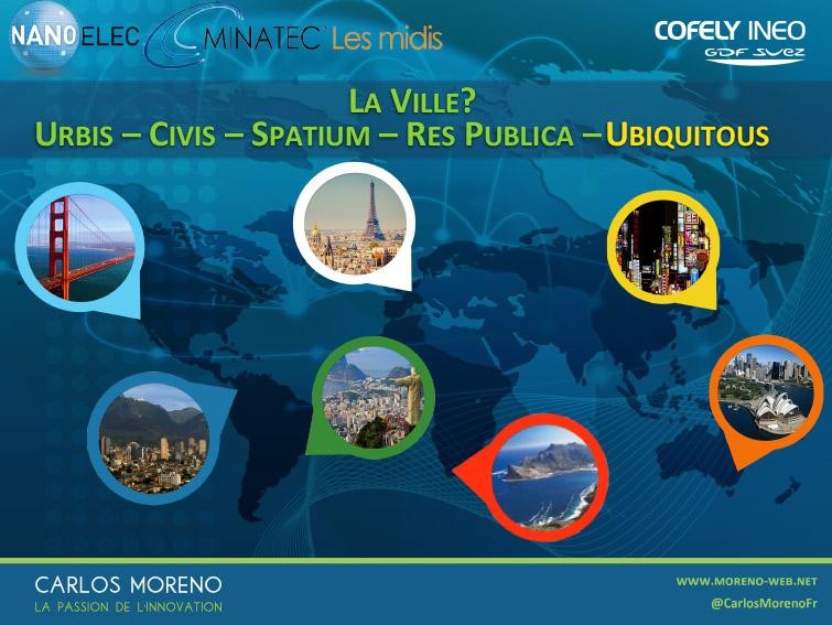 3. Les cinq composantes de la ville du XXIème siècle