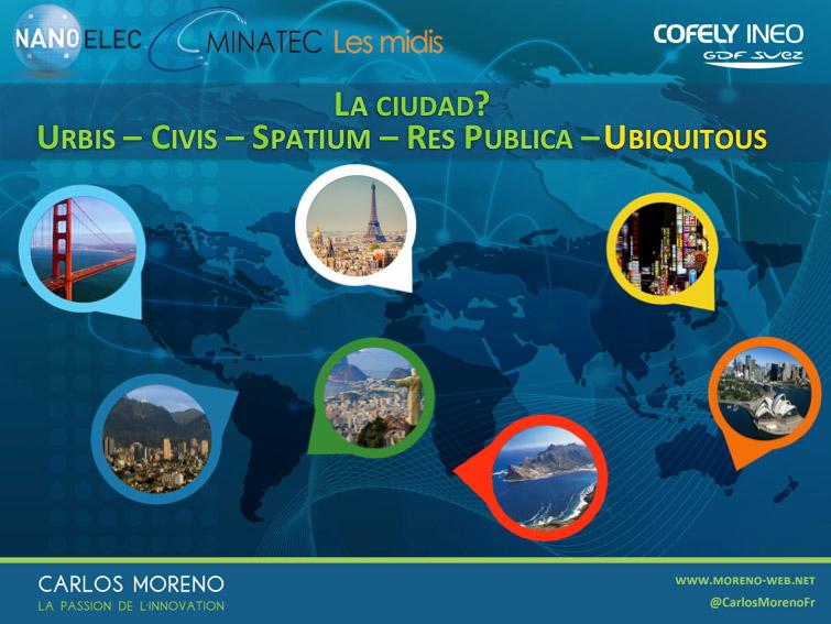 3. Los cinco componentes de la ciudad del siglo XXI