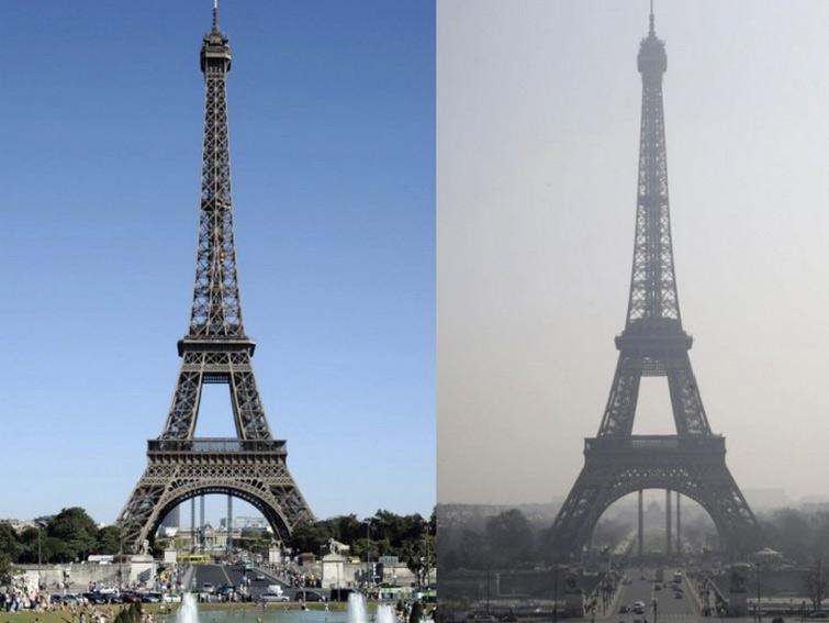 paris-polution