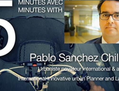 5 minutes avec… Pablo Sánchez Chillón