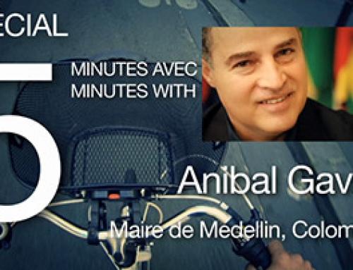 Spécial 5 minutes avec… Anibal Gavria, Maire de Medellin (EN, ESP, FR)