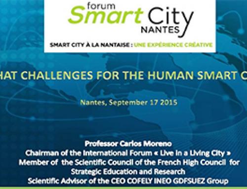 Keynote du Forum Smart City Nantes (Diaporama)
