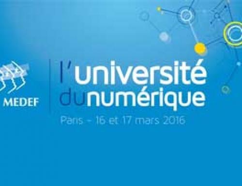 Intervention Université du Numérique du MEDEF 2016 (Diaporama – FR, EN)