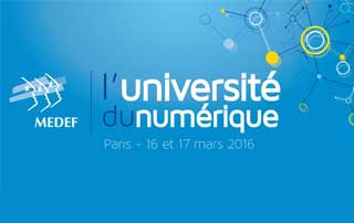 Intervention Université du Numérique du MEDEF 2016 (Diaporama – FR, EN)