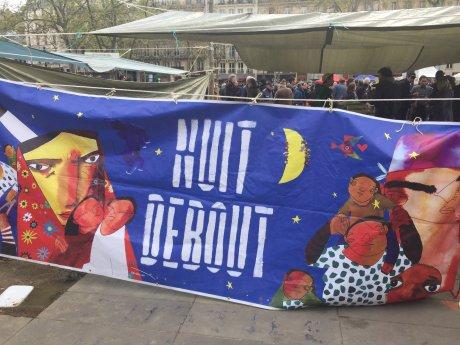 #NuitDebout Carlos Moreno Paris