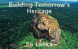 Carlos Moreno Building Tomorrow's Heritage Sri Lanka