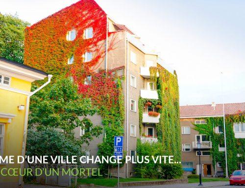 11 octobre 2017 | Conférence : « La forme d'une ville change plus vite… Que le cœur d'un mortel »
