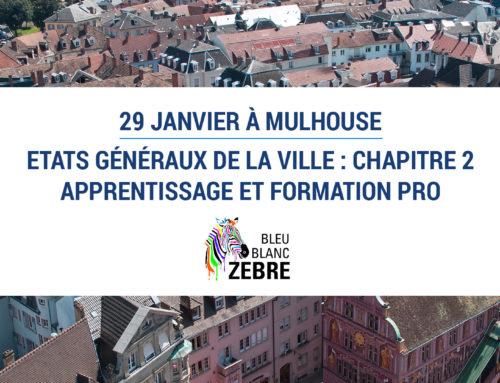 29 janvier 2018 | Etats Généraux de la Ville : Chapitre 2, Apprentissage et Formation