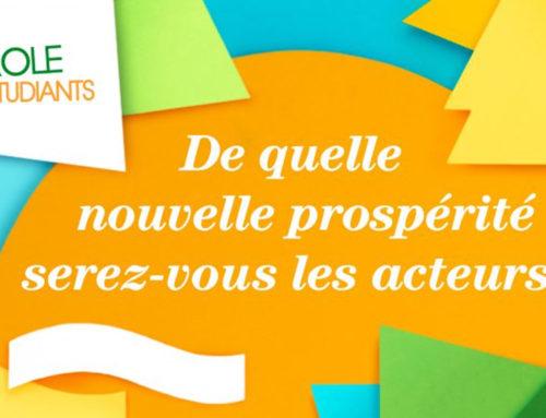 15 mars | Forum Le Cercle des économistes, Strasbourg. Projet : La parole aux étudiants