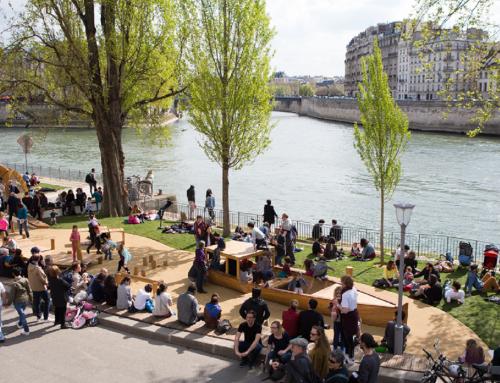 Le Parc Rives de Seine est à nous! Après la Marche pour le Climat, des actes (EN, FR, ESP)