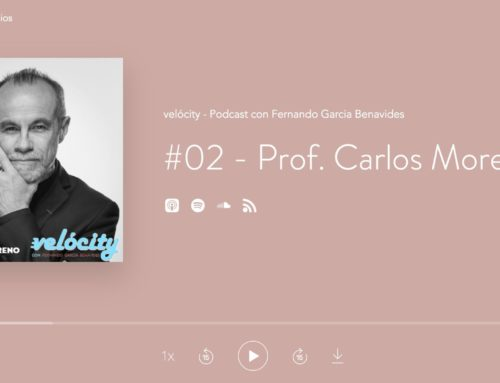 Velócity – Podcast avec Prof. Carlos Moreno, interview de Fernando Garcia Benavides – 25 février 2020