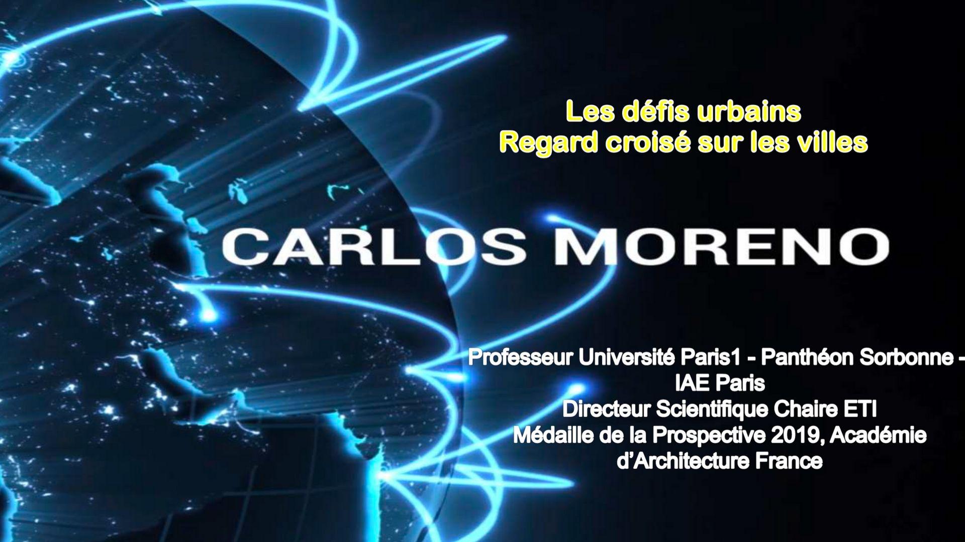 Présentation La Mélée 2019 - Carlos Moreno