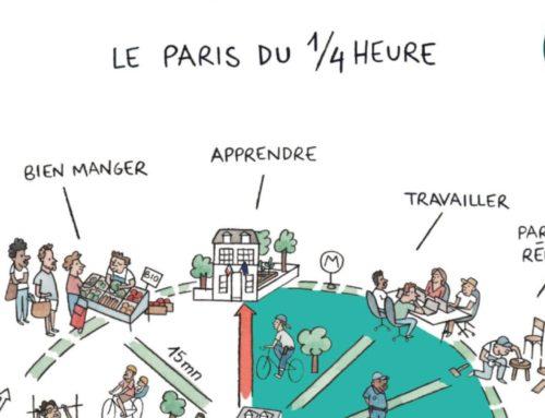 """"""" Municipales à Paris : avec """"la ville du quart d'heure"""", Anne Hidalgo mise sur l'hyper proximité """" – BFMTV – 21 Janvier 2020"""