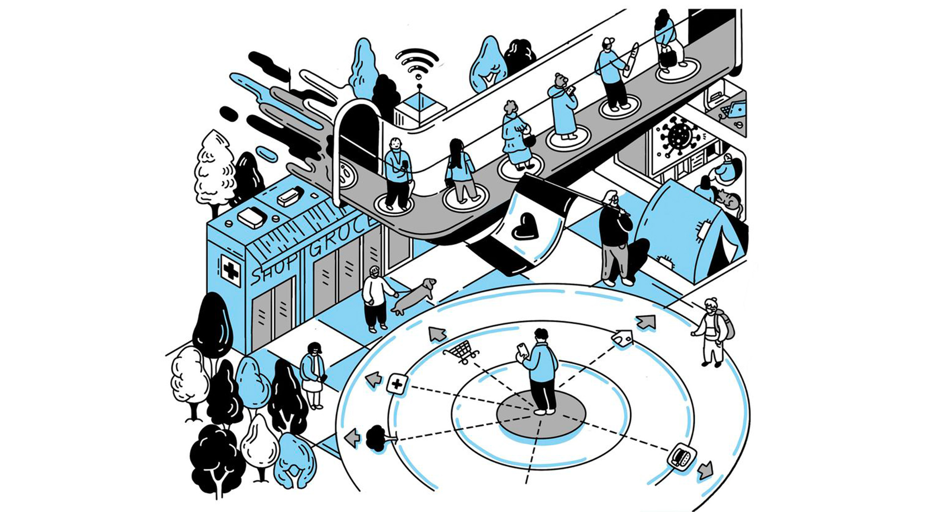 The Globe and Mail (Canada) – An in-depth look at the future of cities – 13 novembre 2020