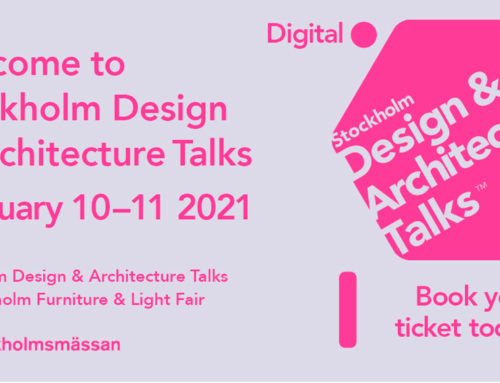 11 février 2021- Keynote, Stockholm Design & Architecture Talks –