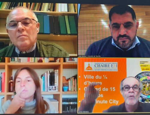 """o noticieiro – A Deputación """"Ficha"""" ao Asesor da alcaldesa de París Carlos Moreno como prefesor da """"Facultade Ágora"""" – 11 de Marzo de 2021"""