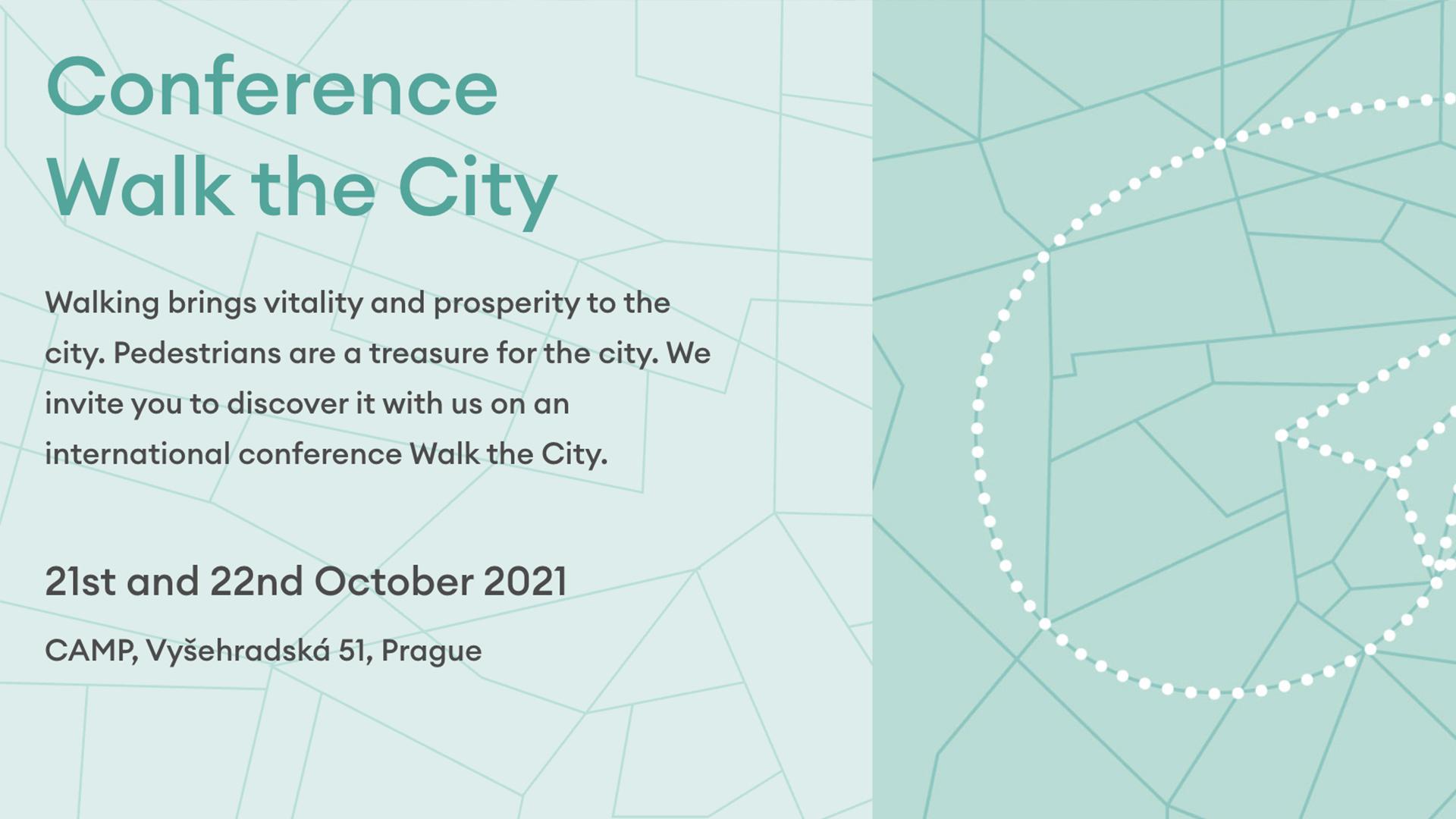 21-22 octobre 2021 – Conference walk the city – Prague (Rép. Tchèque)