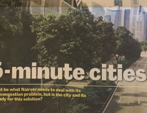 Daily Nation – 15-minute cities – Thursday, August 5, 2021